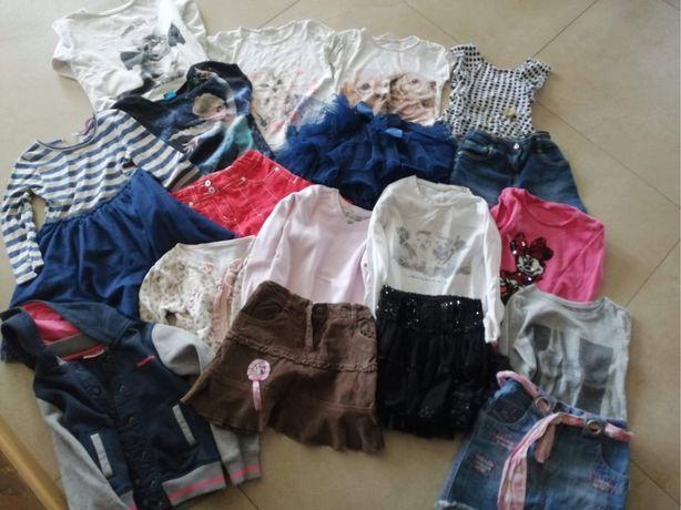 Ubrania 116 dla dzieczynki ,paka 116
