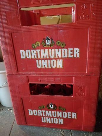 Skrzynki od piwa zagranicznego