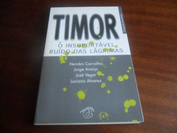 """""""Timor - O Insuportável Ruído das Lágrimas"""" de Hernâni Carvalho"""