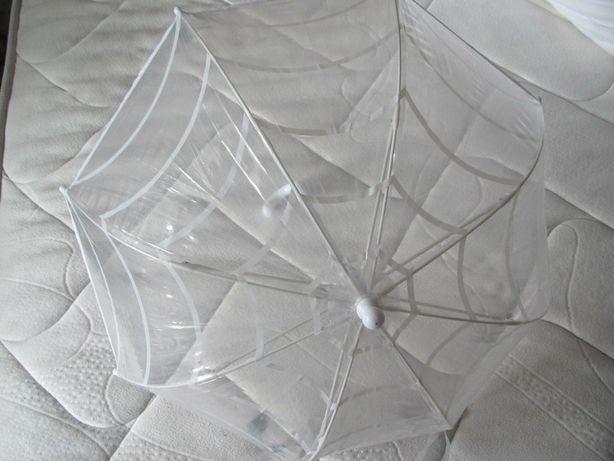 Детский прозрачный зонтик на возраст 4-14 лет