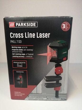 Laser Krzyżowy PARKSIDE PKLL 7D3