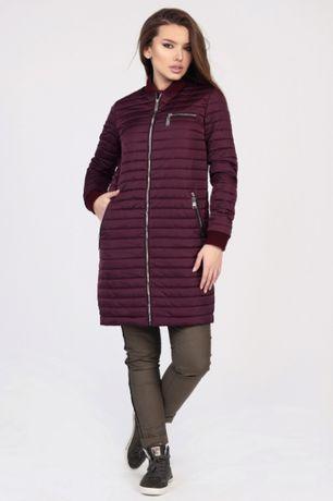 Стеганная женская куртка на осень