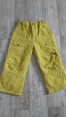 Spodnie narciarskie zimowe ocieplane cococodrillo roz 116