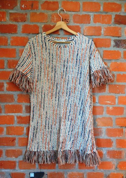 sukienka z frędzlami boho ZARA L Kłodzko - image 1