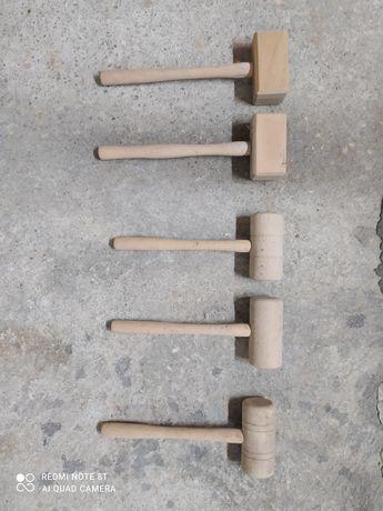 Maços, martelos em madeira