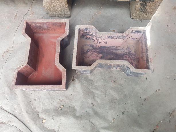 Formy do kostki brukowej i płytek choinkowych, chodnikowe