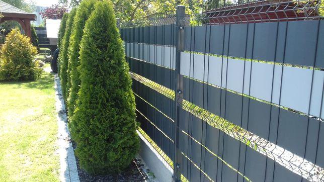Montaż ogrodzeń bram i futrek z siatki systemowej automat oraz własne