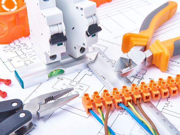 Elektryk  instalacje elektryczne  pomiary uprawnienia sep E +D