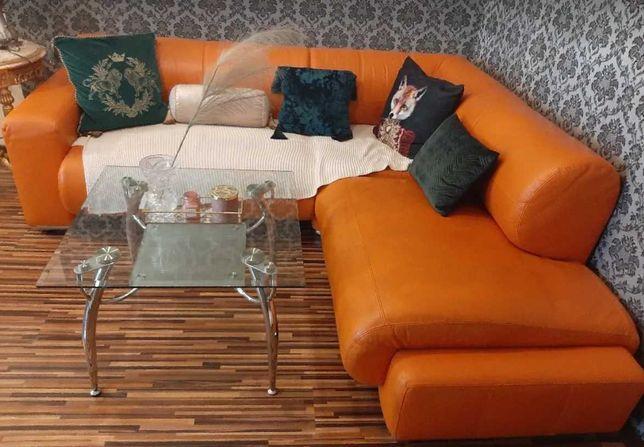 Sofa kanapa rogówka skóra naturalna