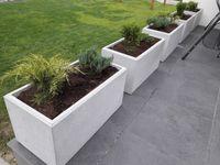 Donica betonowa beton architektoniczny 80/40/40 gat. 1  NAJTANIEJ!!!
