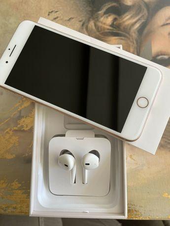 iPhone 8 PLUS, Gold, 256GB, idealny