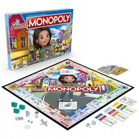 Monopoly Panna Gra Planszowa Rodzinna Hasbro Pl E8424