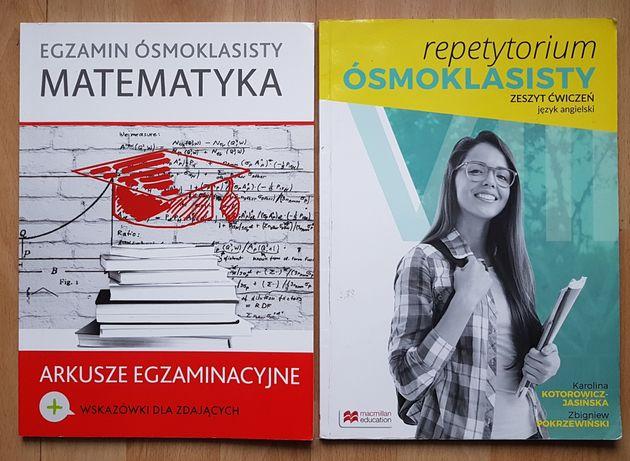 Egzamin ósmoklasisty - matematyka  i język angielski