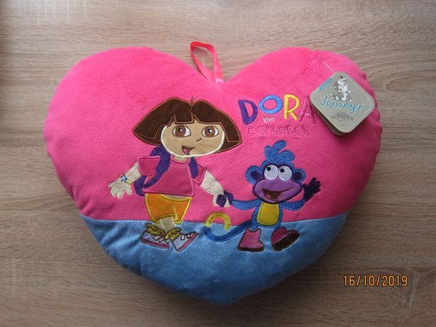 Новая подушка сердце Дора