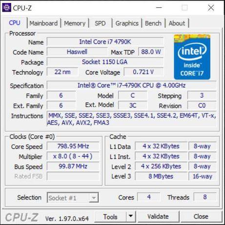 Processador Intel I7 4790K