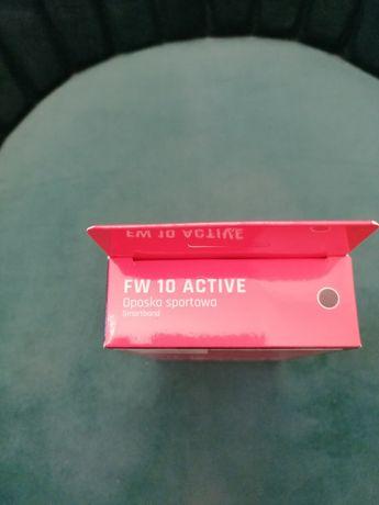 Maxcom FW10 Active smartband czarna