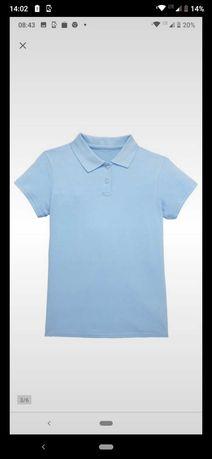 Koszulka polo dziecięca rozmiar 122