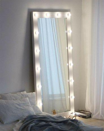 В НАЛИЧИИ! Зеркало в пол/Гримерное зеркало/ зеркало с лампами