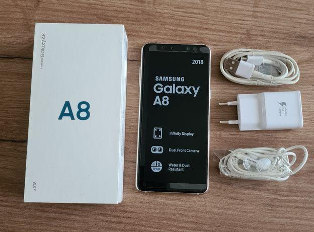 SAMSUNG GALAXY A8 2018 Dual SIM złoty + gratis
