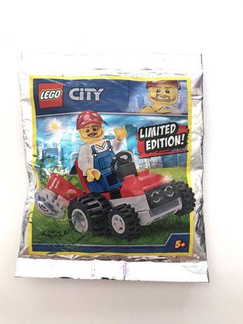 Lego City Jardineiro com trator Portes Grátis