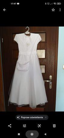 Sukienka komunijna, do komunii rozmiar 140