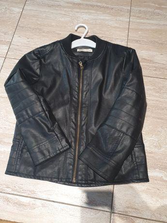 Кожаная куртка 6-7 лет