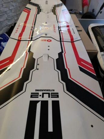Deska kite Su2 split składana CYBER 2020 strapy Finy testowa 138/41