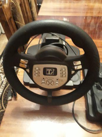 Ігровий руль з педалями та коробкою передач