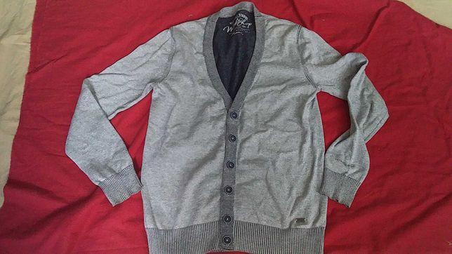 Джемпер, пуловер  мужской, Хлопок-Workshop-S-оригинал