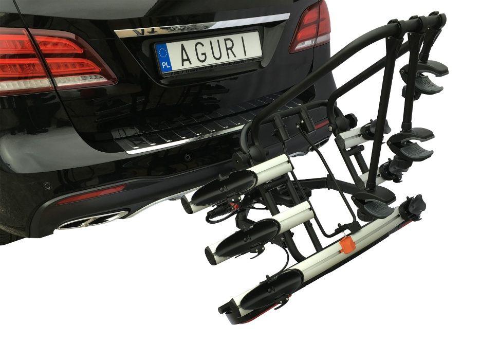 Bagażnik Platforma Row. Hak Active Bike 3/4 HIT black -AGIRI