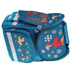 Рюкзак-ранец TopZip Teal для учеников начальных классов школы !