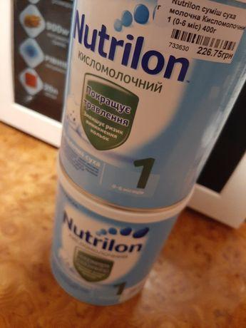 Нутрилон кисломолочный 1