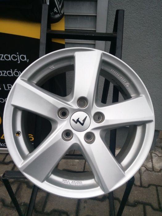 Felgi aluminiowe 5x112/ 6,5J/ 16'', ALUTEC. Kozy - image 1