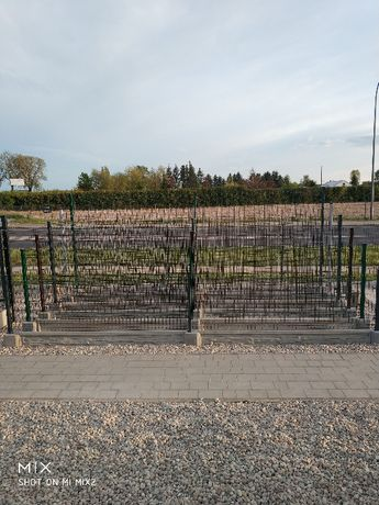 Panele ogrodzeniowe komplet fi 4/1,5m + podmurówka-Nowe Miasto Lubawsk