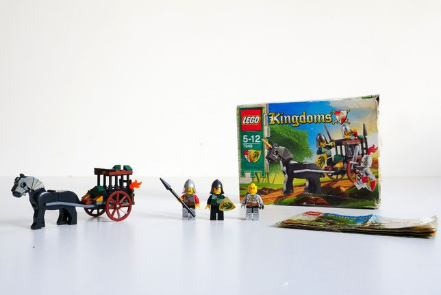 Lego 7949 Kingdoms Rescue Carriage Rescue