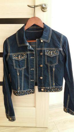 Джинсовая куртка М-L