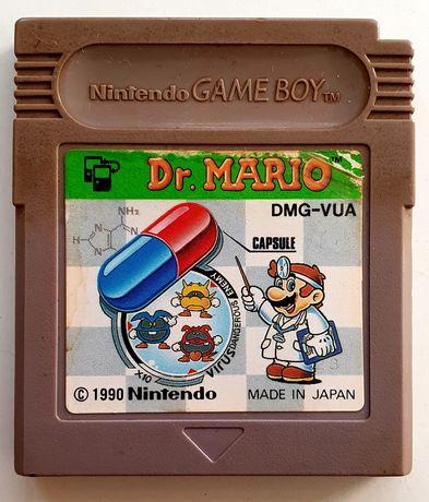 Dr. Mario gra Nintendo GameBoy Game Boy Classic  wyd. japońskie