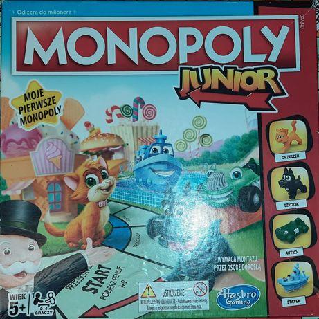 Monopoly Junior. Gra planszowa Hasbro