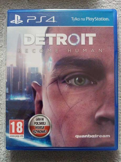 Gra Detroit Become Human ps4 playstation 4 pro ps5 dubbing pl