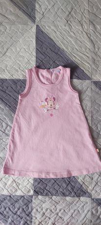 Sukienka niemowlęca- 80cm, 12ms