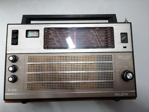"Radio ""Selena"" B-216 USSR antyk"