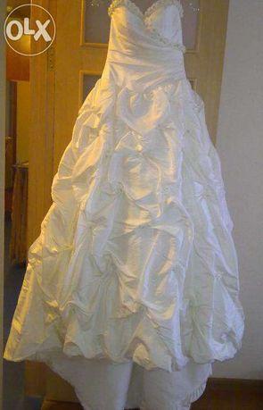 Шикарное нежное свадебное платье