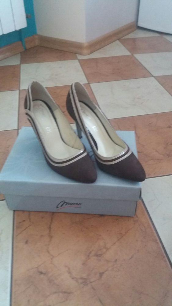 Buty damskie skórzane, czółenka, półbuty, buty na obcasie, szpilki Przeworsk - image 1