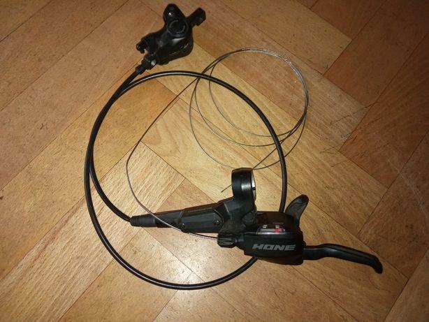 Hamulec tarczowy hydrauliczny dual control Shimano ST-M600
