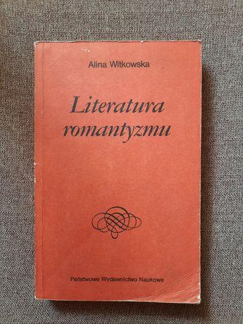 Literatura romantyzmu,  matura. Romantyzm . WITKOWSKA