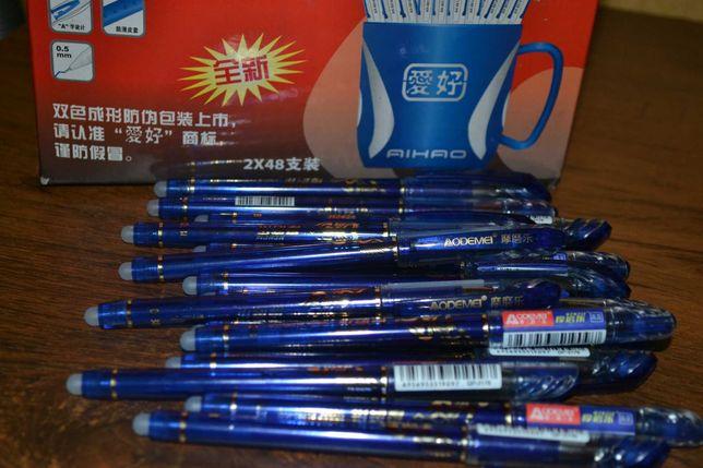 Ручка пиши-стирай Odemei №3176 синяя  100 шт