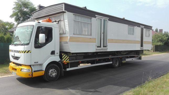 Laweta transport camping domek holenderski angielski przyczepa camper