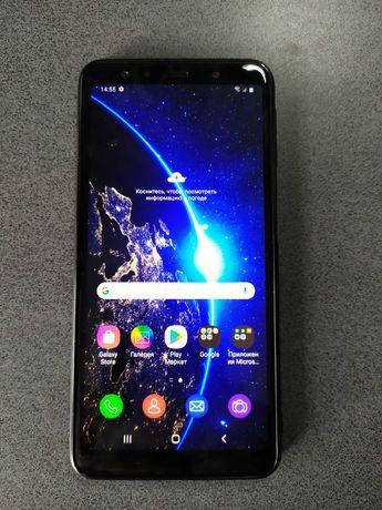 Отличный телефон Samsung Galaxy A7 2018 PINK 4/64 GB