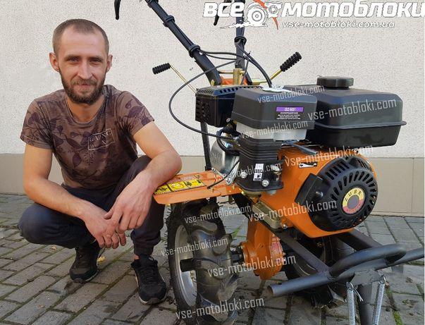 Мотоблок Зубр - бензин, 7 к.с! Привеземо- Безкоштовно