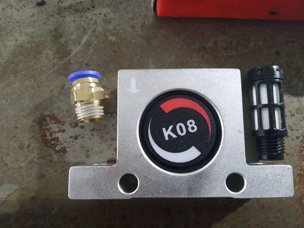 Wibrator pneumatyczny k08 przesiewacz przetrzasywacz piaskowanie